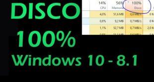 Tecnologia | Risolvere utilizzo disco cpu 100% Windows 10 – 8.1