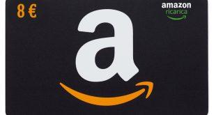 Amazon: 8€ di Buono Sconto se ricarichi 80€ sul tuo account