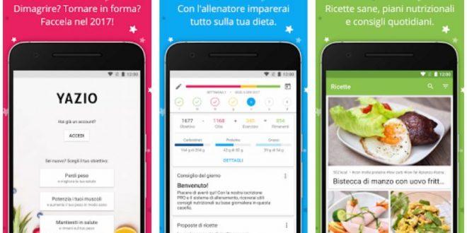 App Conta Calorie e Diario Dieta per perdere peso con successo