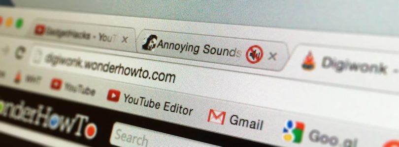 Silenziare scheda Chrome: disattivare l'audio con un click