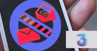 Bloccare servizi SMS 3 Italia a pagamento per sempre
