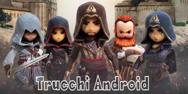 Trucchi Assassin's Creed Rebellion: Soldi infiniti - Acquisti illimitati