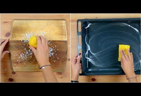 Come pulire il tagliere e la teglia: i trucchi utili in cucina