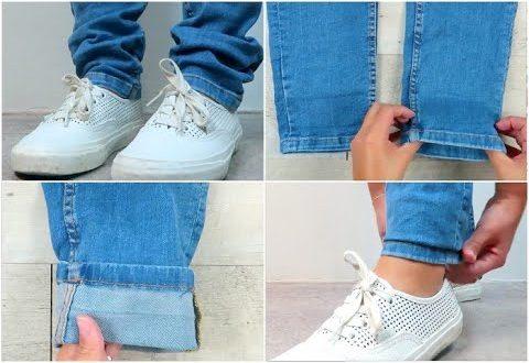 Jeans lungo? Ecco come fare la piega in modo semplice e veloce