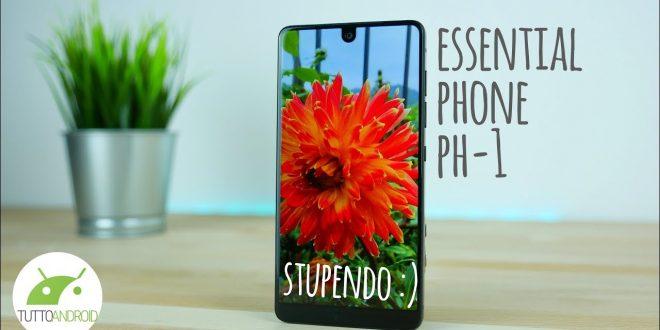 Essential Phone: lo SMARTPHONE PIÙ BELLO e SPRECATO | Recensione ITA | TuttoAndroid
