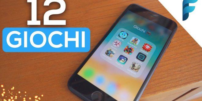Top 12 Giochi che DEVI AVERE sul TUO Smartphone! (iOS & Android) (2017) [ITA]