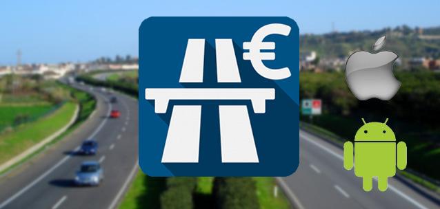 App calcolo costo autostradale: pedaggio andata e ritorno