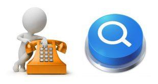 Cercare nome e indirizzo da numero di telefono fisso o cellulare