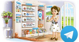 Novità Telegram (aggiornamento 4.5) Album, Messaggi salvati e Ricerca