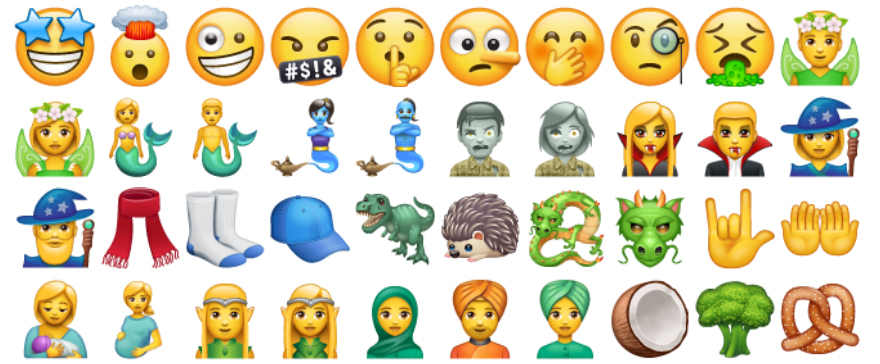 nuove emoji iphone su android