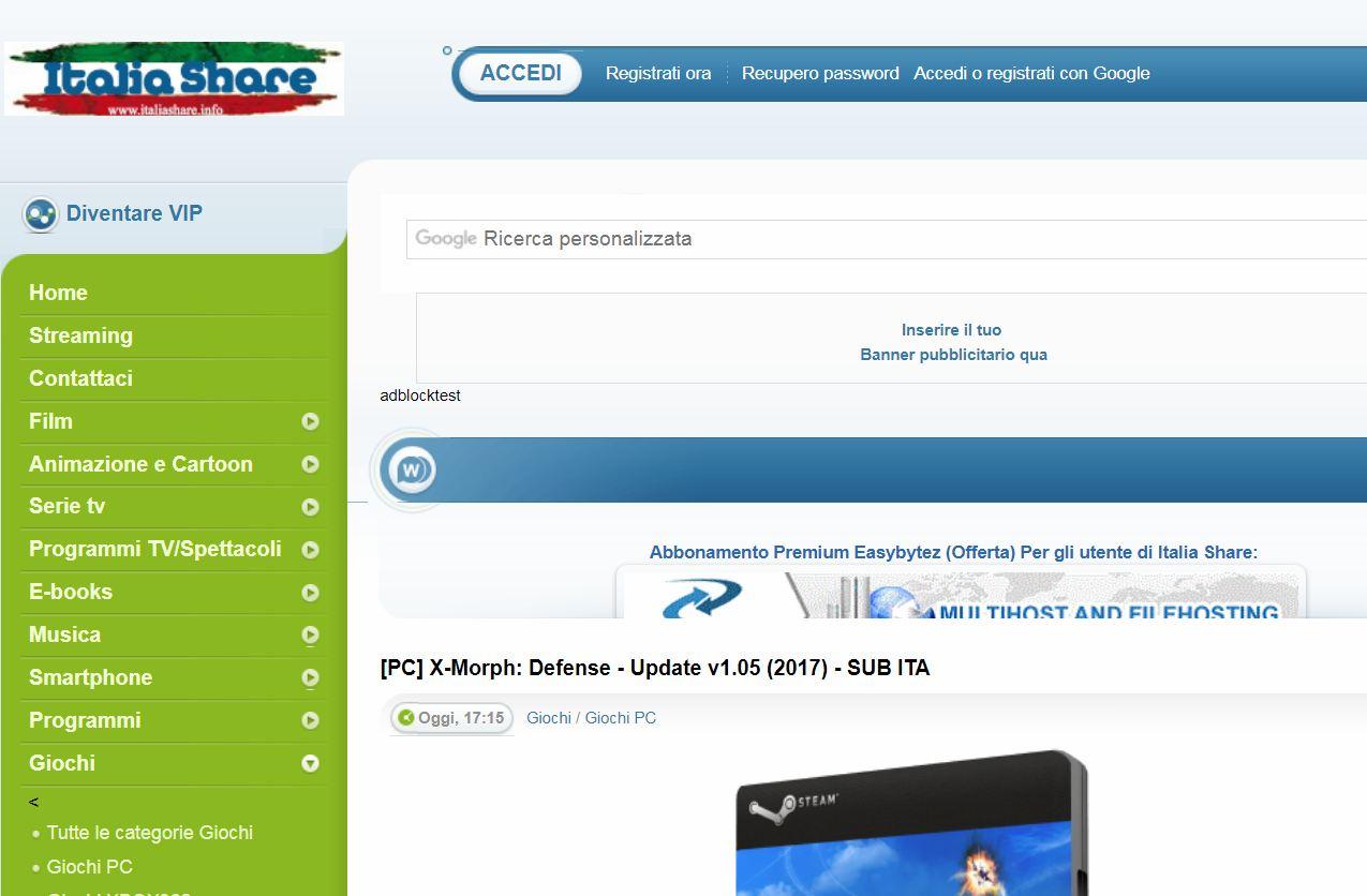 Scaricare Giochi per PC gratis completi in italiano 2