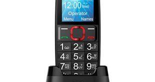 Voxtel M311 Telefono Cellulare, Nero