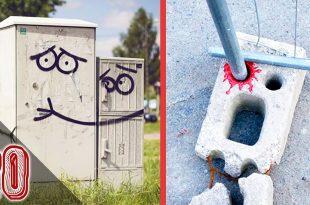 20 Atti Di Vandalismo Che Hanno Reso Il Mondo MIGLIORE