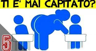5 Cose Che TUTTI Odiamo A Scuola