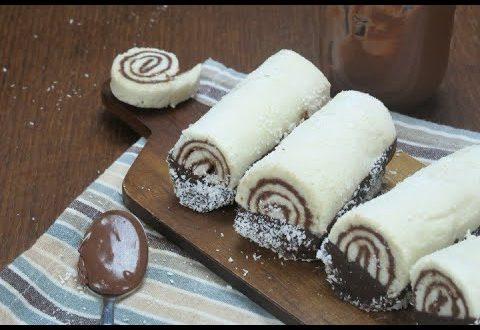 Rotolini cocco e nutella: il dolcetto pronto in pochi minuti!