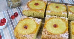 Torta all'ananas: soffice e deliziosa come non l'avete mai provata!