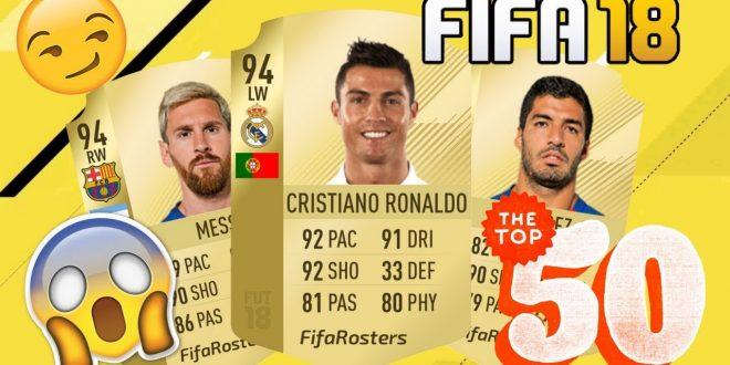 i Migliori giocatori di FIFA 18 Attaccanti, Centrocampisti, Difensori, Portieri