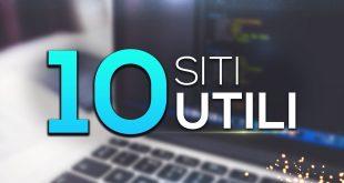 10 siti UTILI che (forse) NON CONOSCI! - #2