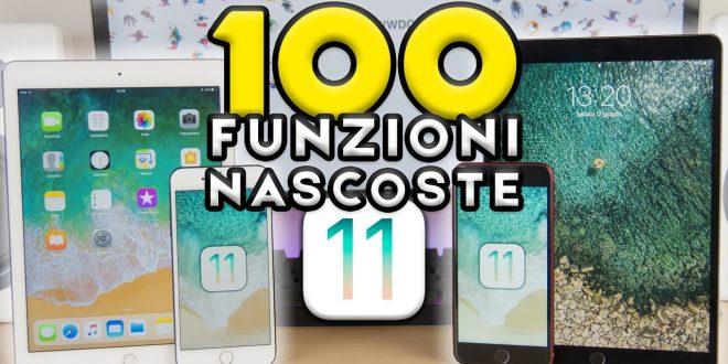 100 FUNZIONI NASCOSTE in iOS 11