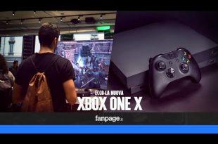Arriva Xbox One X, la console più potente sul mercato: le reazioni dei giocatori
