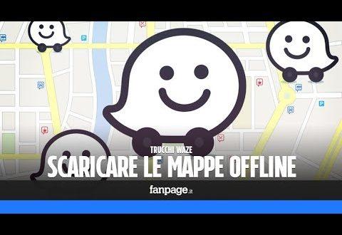 Scaricare le mappe di Waze e risparmiare traffico dati