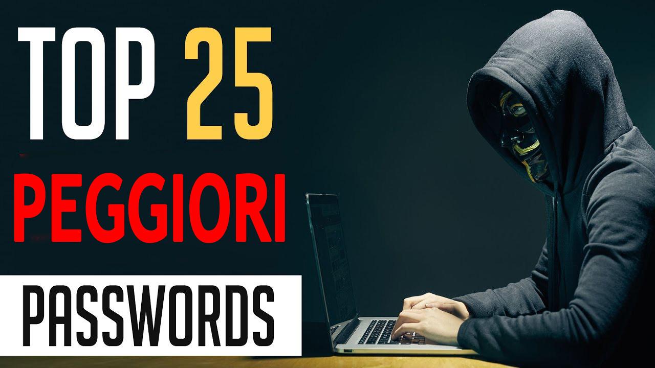 Classifica Password 2017 le peggiori da non usare nel 2018