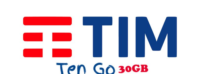 Offerta TimTenGo 30GB minuti illimitati e 30 Giga a 10 euro