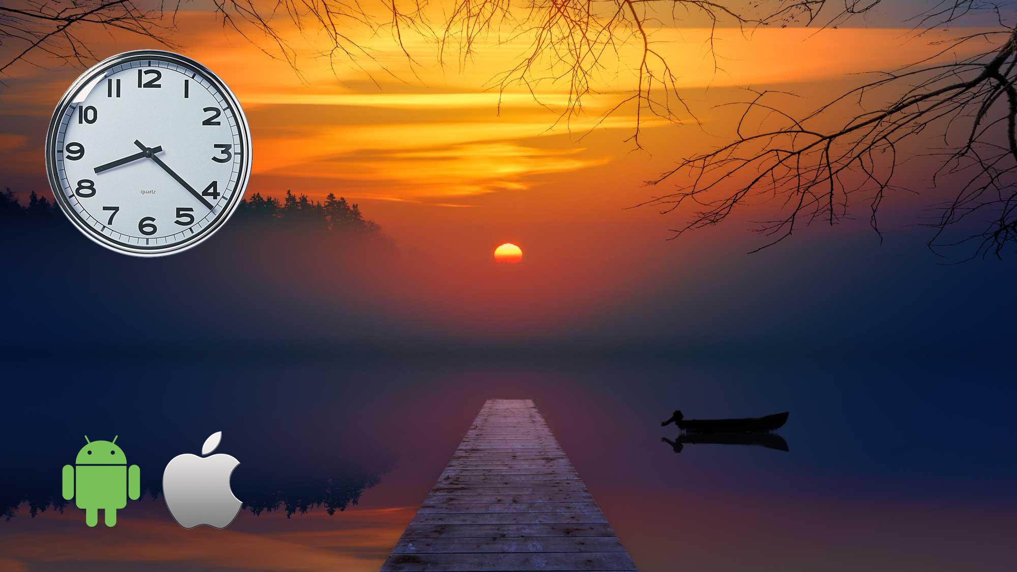 App per orario Tramonto, Alba e Crepuscolo e posizione del Sole