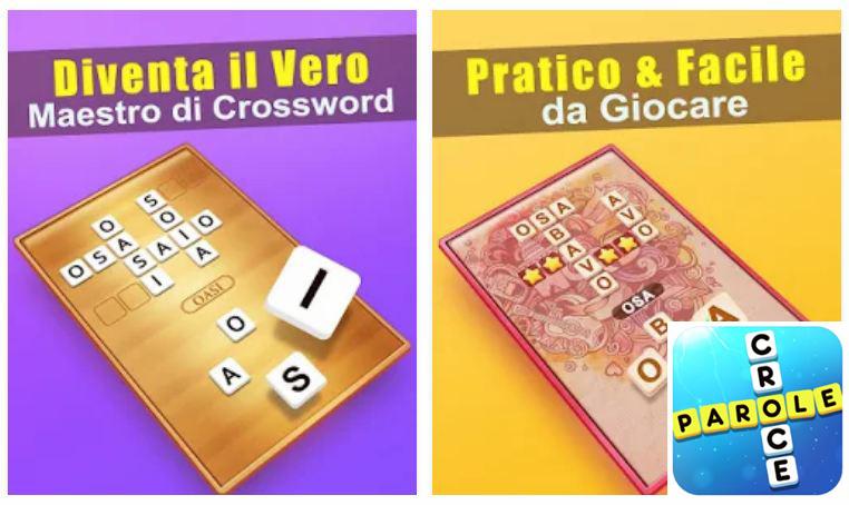 Parole Croce soluzione livelli del gioco di cruciverba