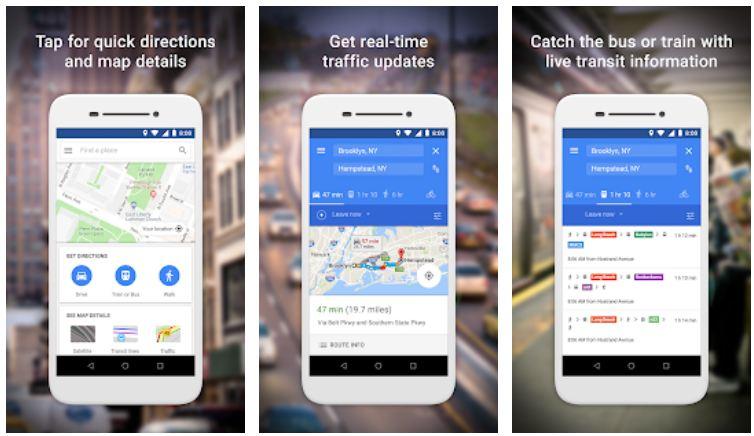 Google Maps Go - Indicazioni, traffico e trasporti (beta)