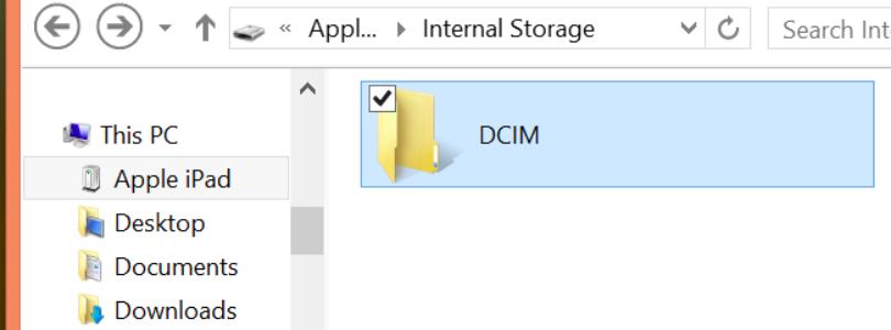 Perché le foto vengono salvate nella cartella DCIM