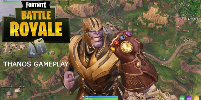 Come si gioca nei panni di Thanos in Fortnite Battle Royale