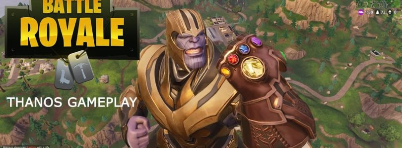 Come si gioca nei panni di Thanos in Fortnite Battle Royale