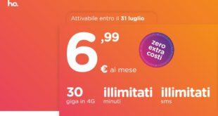 Il nuovo operatore Ho. sfida iliad: 30 giga e minuti illimitati a 7€