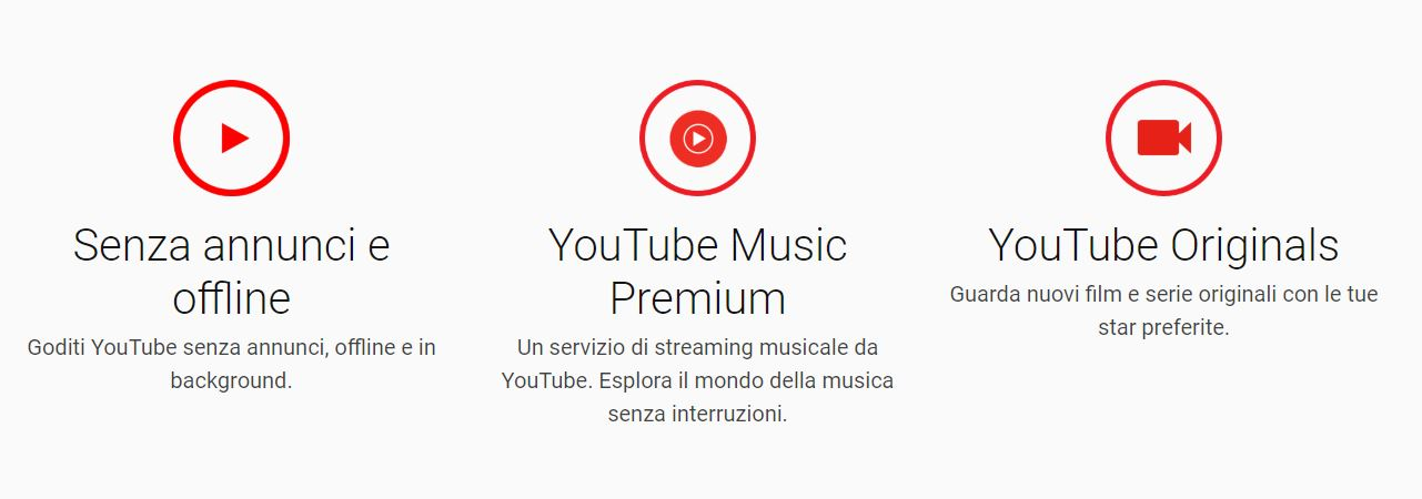 video da youtube e guardarli offline