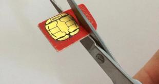 Come tagliare la scheda SIM in una microSIM o nanoSIM