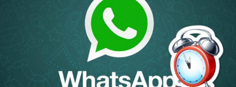 Come inviare un messaggio WhatsApp programmato e automatico