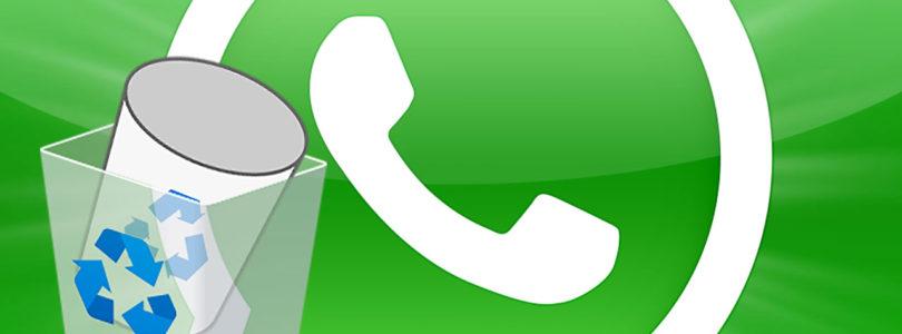 Come recuperare i messaggi e le foto cancellate di WhatsApp