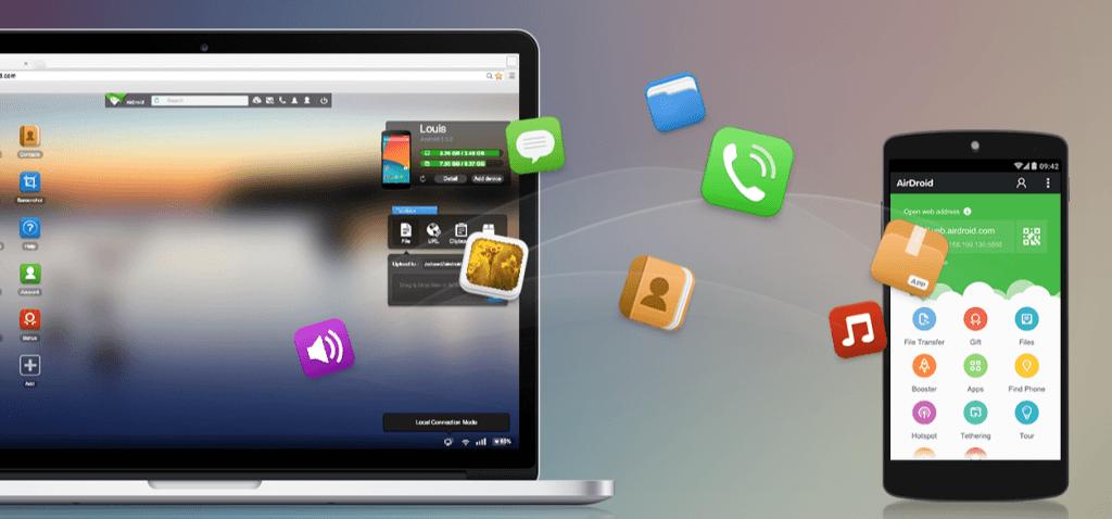 controllo remoto telefono android da pc