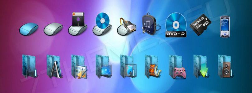 Cambiare le icone di filee cartelle di un PC Windows