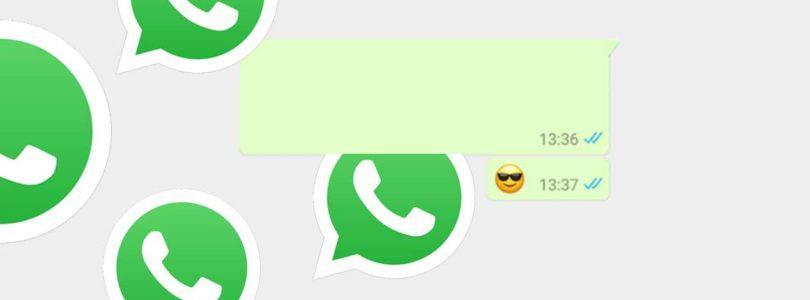 Mandare un messaggio vuoto su WhatsApp
