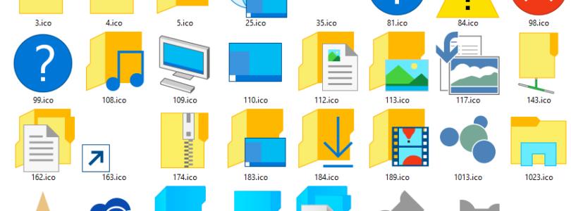 Scaricare icone pack gratis per Windows