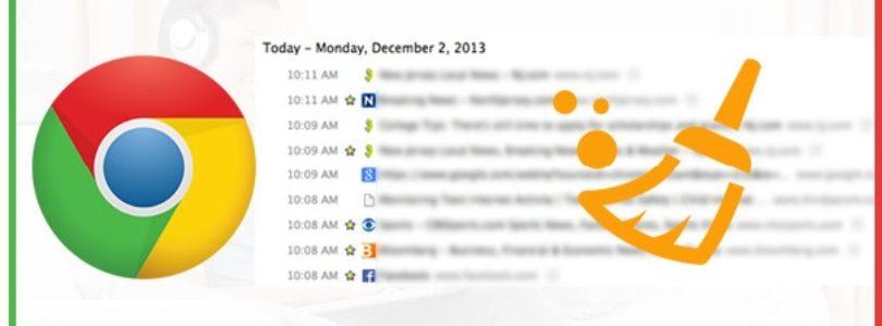Cancellare cronologia Chrome automaticamente su Pc e Android