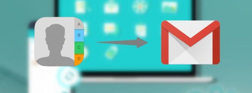 Come passare contatti da iPhone a Gmail