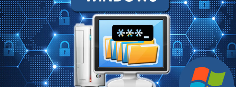 Come inserire la password in cartelle e file del PC