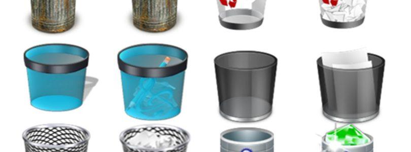 Come cambiare icona del cestino in Windows