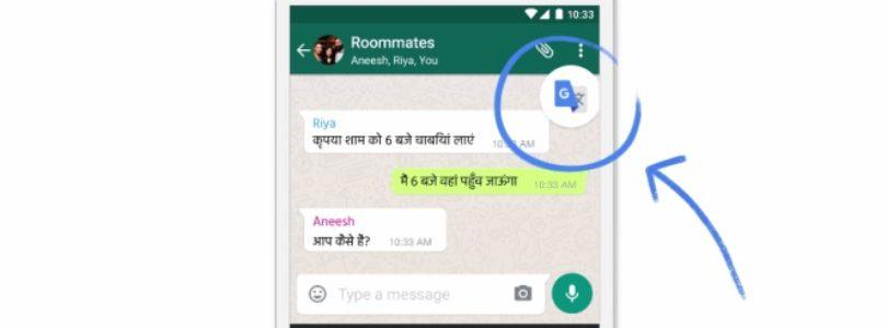 Tradurre i messaggi WhatsApp nella chat in tempo reale