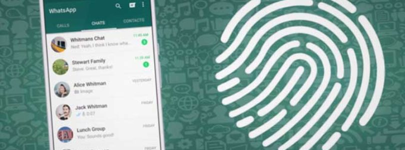 Come bloccare WhatsApp con impronta digitale su Android