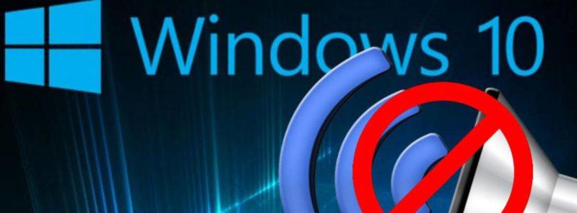 Come risolvere se Windows si accende senza audio