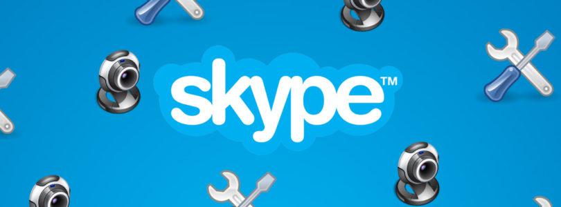 Come risolvere se la webcam su Skype non funziona